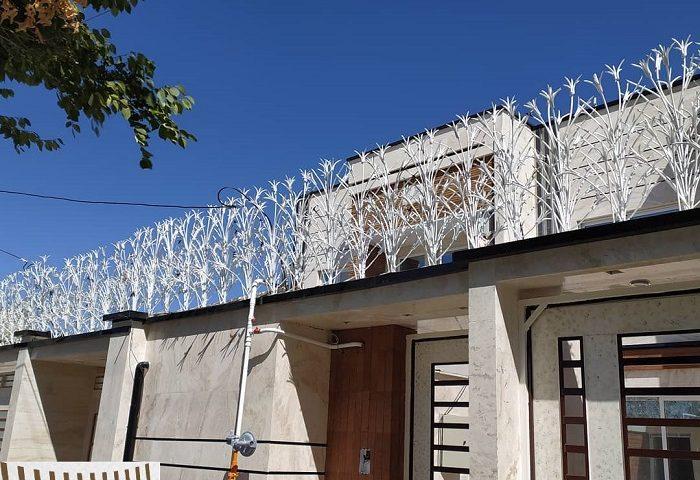 امن ترین حفاظ آهنی دیوار