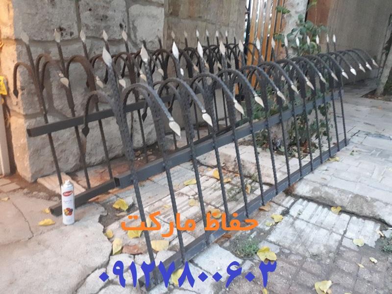 قیمت حفاظ سرنیزه ای روی دیوار