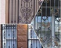 نرده حفاظ بالکن و ساختمان