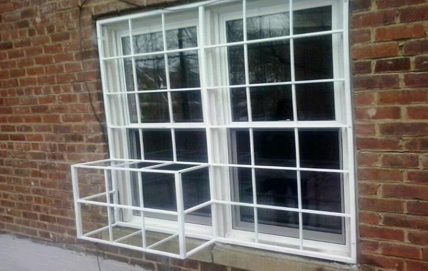 4 - نرده پنجره