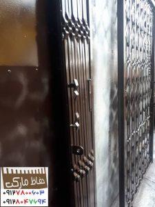 درب کشویی فلزی