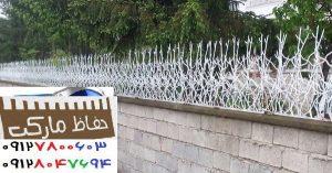 حفاظ دور محوطه ساختمان در رامسر