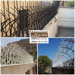 حفاظ روی دیوار شیراز