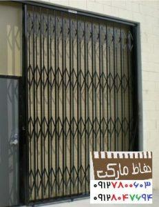 حفاظ کرکره کشویی آهنی