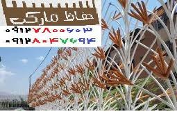 نرده کشی دیوار حیاط