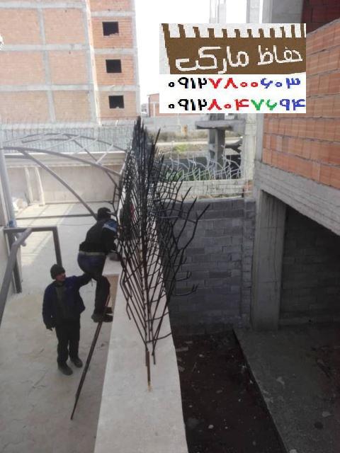 حفاظ کشی بالای دیوار