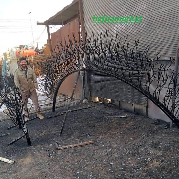 تولید محافظ شاخ گوزنی بالای دیوار
